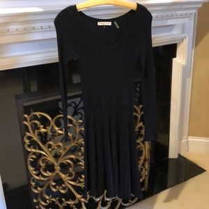 Rebecca Taylor black knit dress